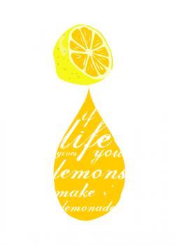 Life & Lemons Art Prints
