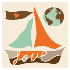 Love Life Love the Earth Art Prints