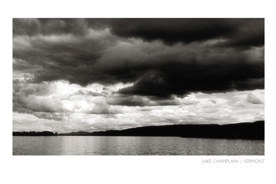art prints - Lake Champlain by Grey Circle