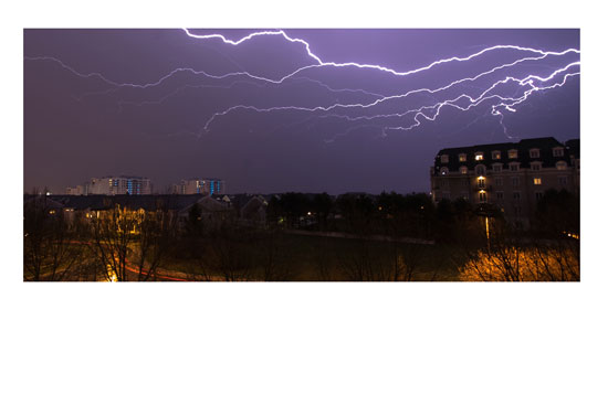 art prints - Lightning Strikes by Grey Circle