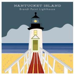Nantucket Island Lighthouse Art Prints