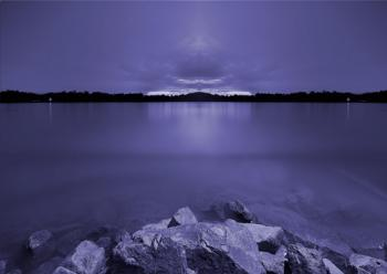 In the still of the night. Art Prints