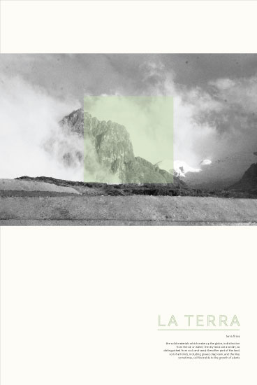 art prints - La Terra by Spotted Whale Design