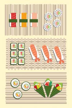 Sushi: A Tasty Trilogy
