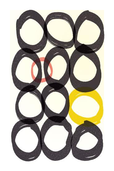 art prints - Rings by 2birdstone