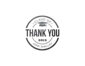 Simple Graduate Thank You Cards