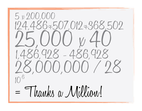 thank you cards - Math Thanks by Amy Weir