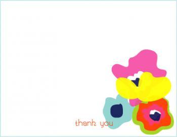 Poppies Thank You Cards