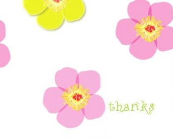 Buttercups Thank You Cards