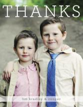 Thanks from the Boys by Christina Novak