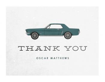 A Classic Thanks Thank You Cards
