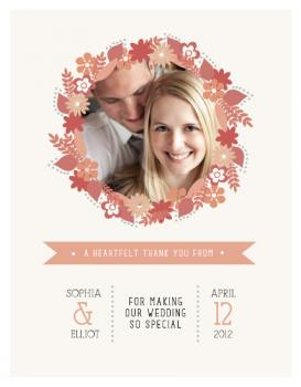 Wedded Bliss Thank You Cards