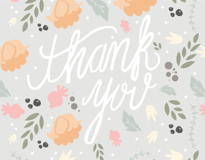thank you cards - Southern Hospitality by Courtnie Johnson