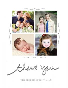 hand written Thank You Cards