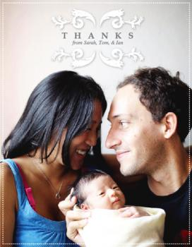 Simply Elegant Thank You Thank You Cards