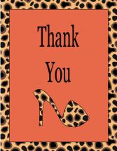 Cheetah Shoe Diva by Deanna Pickford