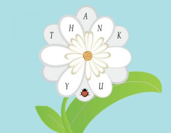 Daisy and the Ladybug Thank You Cards