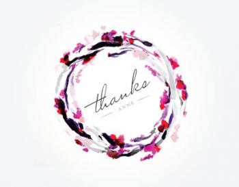 A Garland of Gratitude Thank You Cards