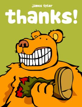 Ursine Thank You Cards