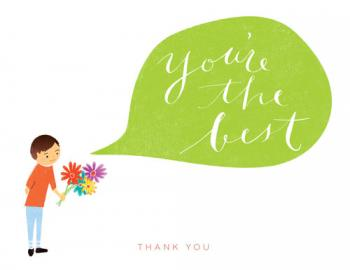 You're the Best Thank You Cards