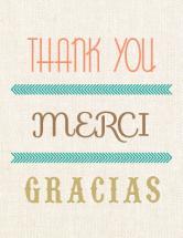 Thank you, Merci, Graci... by By Birch