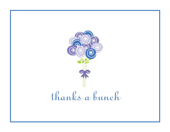thank you cards - Thanks a Bunch by A. Dolan