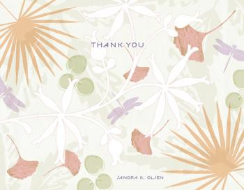 In the Tropics Thank You Cards
