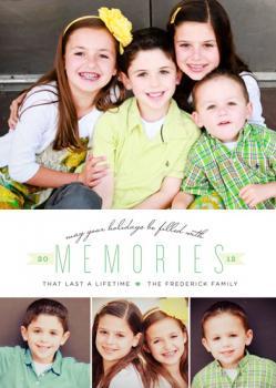 Three Winks Holiday Photo Cards