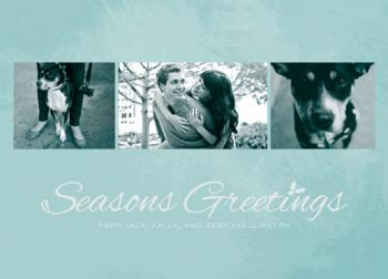 frosted greetings Holiday Photo Cards