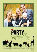 Holiday Party Animals by Natalie Navales