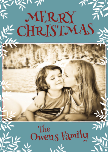 holiday photo cards - Etterlater by Kirstin Nagy