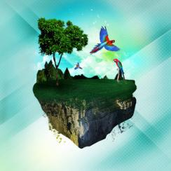 Land of Macaws Art Prints