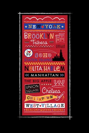 art prints - New York! New York! by Kimberly Schwede