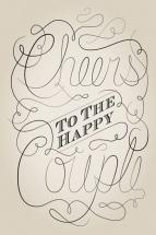 Cheers to the Happy Cou... by Lisa Zizza
