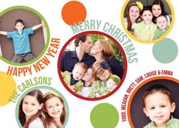 Circle of Love Holiday Photo Cards