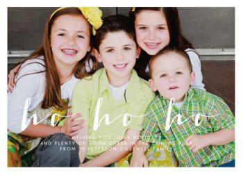 ho ho holiday Holiday Photo Cards