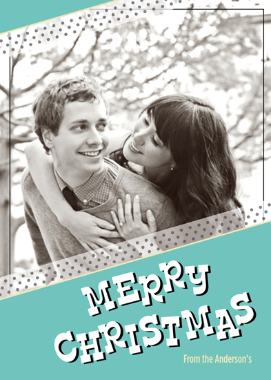 holiday photo cards - A Washi and Whimsical Christmas