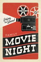 Family Movie Night by Jill Means