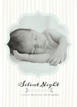 Silent Wishes Holiday Photo Cards