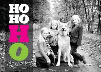 HO, HO, HO Holiday Photo Cards