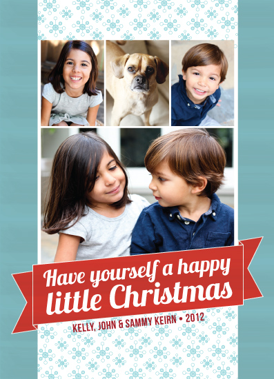 holiday photo cards - Happy little Christmas by Sparkmymind Designs