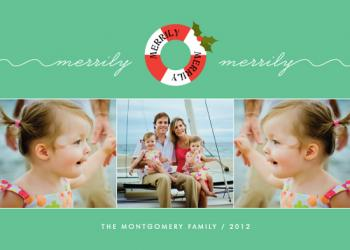 Merrily Merrily Holiday Photo Cards