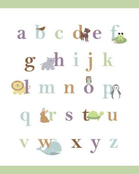 Baby Animal Alphabet