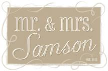 Mr. & Mrs. by Lisa Zizza