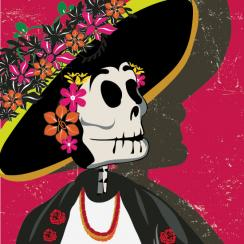 Día de los Muertos Woman