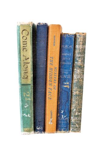 art prints - Vintage Reading by That Girl Studio