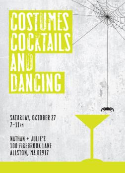 Costumes, Cocktails, and Dancing
