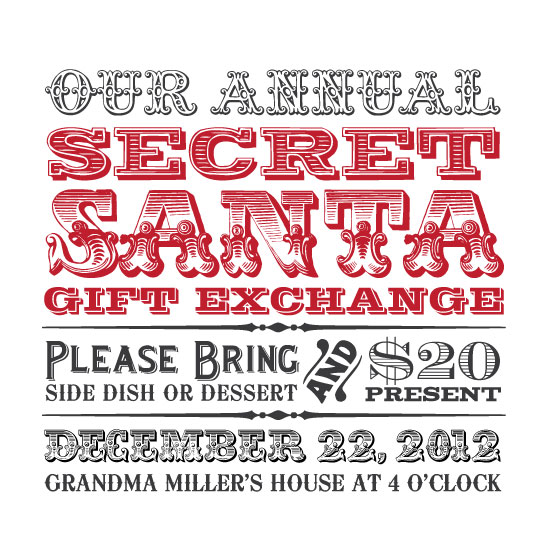 Celebrate! Holiday Party Invitations Challenge - See designs critique ...