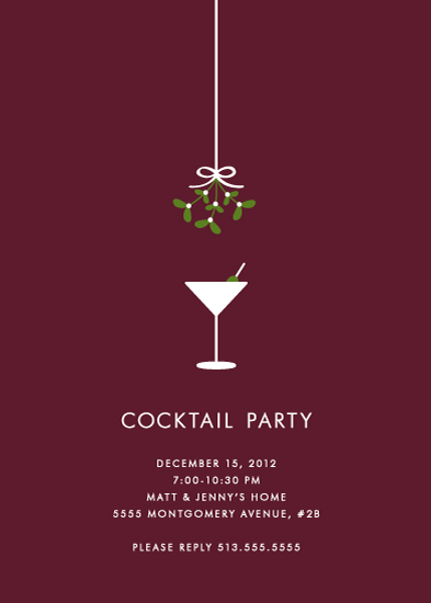 Christmas Cocktail Party Invitations as awesome invitations design