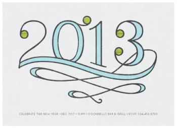 Celebrate 2013! Party Invitations